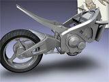 MONZO – Digital Model Builder building a motorcycle