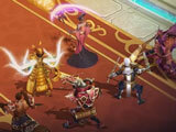 Idle combat in Trials of Heroes