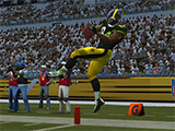 Touchdown in Madden NFL Overdrive Football