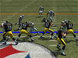 Madden NFL Overdrive Football: Shooting for the post