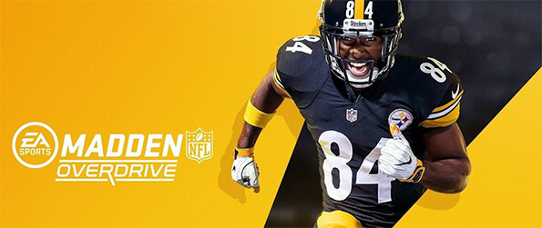 Madden NFL Overdrive Football - Create and set up your NFL football team and challenge the greatest football stars in a full NFL season