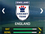 Real Cricket GO team selection