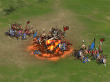 Highly-contested battle in Empire of Heroes