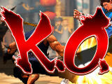 K.O. in Street Fighter IV Champion Edition