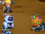 Boss battle in Taptap Heroes