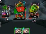 Fighting the Goblin King in Dark Dungeon Survival