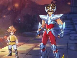 Main menu in Saint Seiya Awakening: Knights of the Zodiac