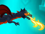 Powerful dragon in Dragon Hills
