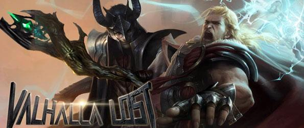 Valhalla Lost - Battle the Gods themselves in a Stunning new MMO CCG full of Action and Powerful Beings to call Yours.