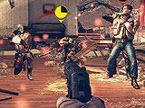 Using a machine gun in Modern Combat 5