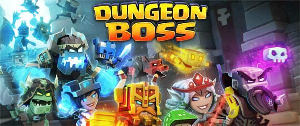Dungeon Boss - Summon and recruit powerful heroes to your team of extraordinary dungeoneers and fight dangerous monsters and bosses in this amazing team-based MMORPG, Dungeon Boss!