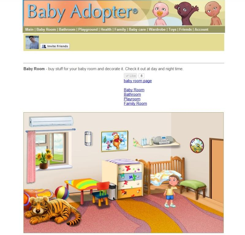 baby adopter baby claps