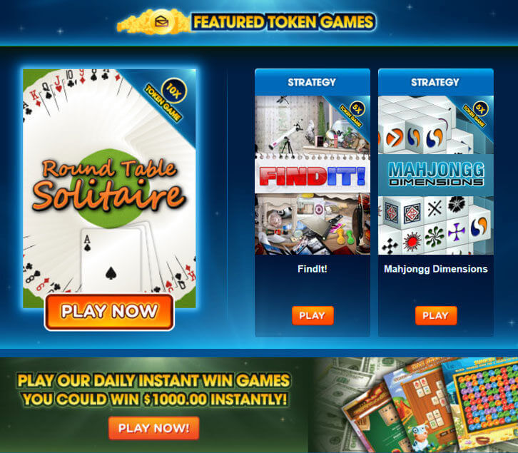 PCH Games: Play Token Games and Win Sweepstakes' Cash Prizes