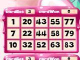 Candy Bingo 3D Bingo Card