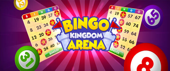 Bingo Kingdom Arena - Enjoy this exciting bingo game that's loaded with features for you to get hooked on.