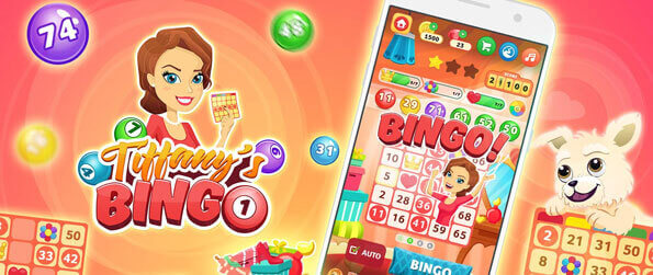Tiffany's Bingo - Enjoy a fun game of bingo and slots or even spinning the Wheel fo Fortune in this brilliant mobile game, Tiffany's Bingo!