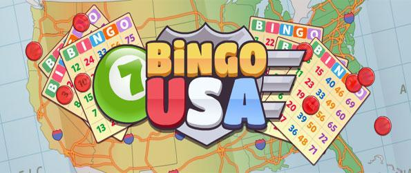 Bingo USA - Travel the USA in this free fun bingo game free on Facebook.