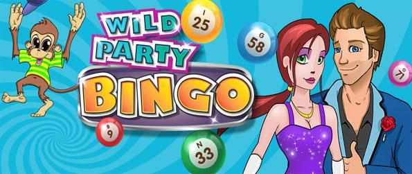 Wild Party Bingo - Enjoy a fantastic new bingo game, with lots of boosters and the ability to play as a team.