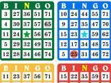 4 bingo cards in Bingo Classic