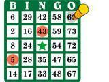 Bingo Classic: Marking a bingo card