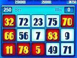 Solara Casino Slots and Bingo - Bingo Game Layout