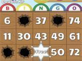 Gameplay for Bingo Showdown