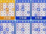 Bingo Mania Games 9 Cards