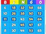 Bingo House Bingo Card