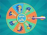 Bingo House Spinning Wheel