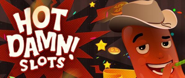 Hot Damn Slots - Leve em 12 novas máquinas neste jogo slots livres Facebook.