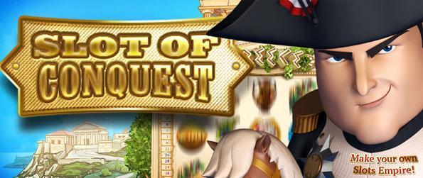 Slots of Conquest - Desfrute de um jogo de slots de animação fantástica e tomar a Europa como você girar e ganhar.