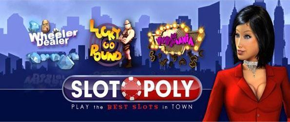 Slotopoly - Únete a una de las crecientes Facebook Tragaperras y entrar y jugar.