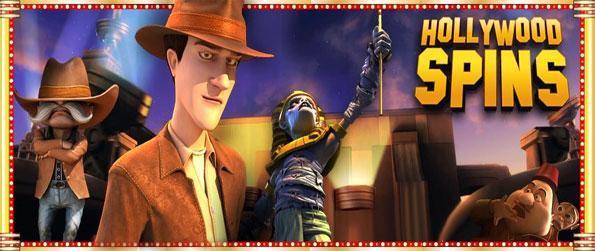Hollywood Spins - Ranuras 3D asombroso de alta calidad aquí en este fabuloso nuevo juego de Facebook.
