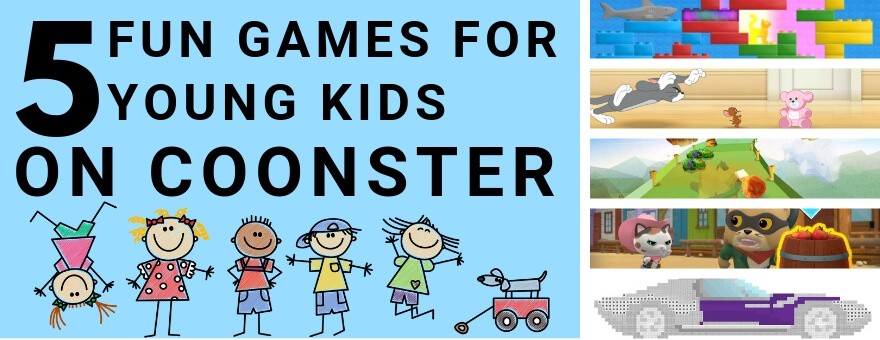 5 Fun Games for Young Kids on Coonster large