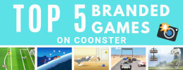 Top 5 Fun Branded Games on Coonster thumb