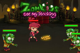Zombies Eat My Stocking thumb