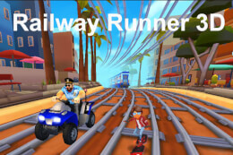 Railway Runner 3D thumb