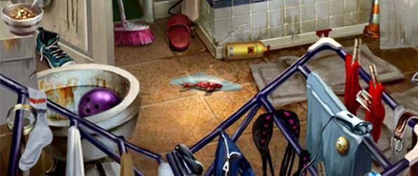 Corpse In A Garden - Dirty Bathroom - Scene 2