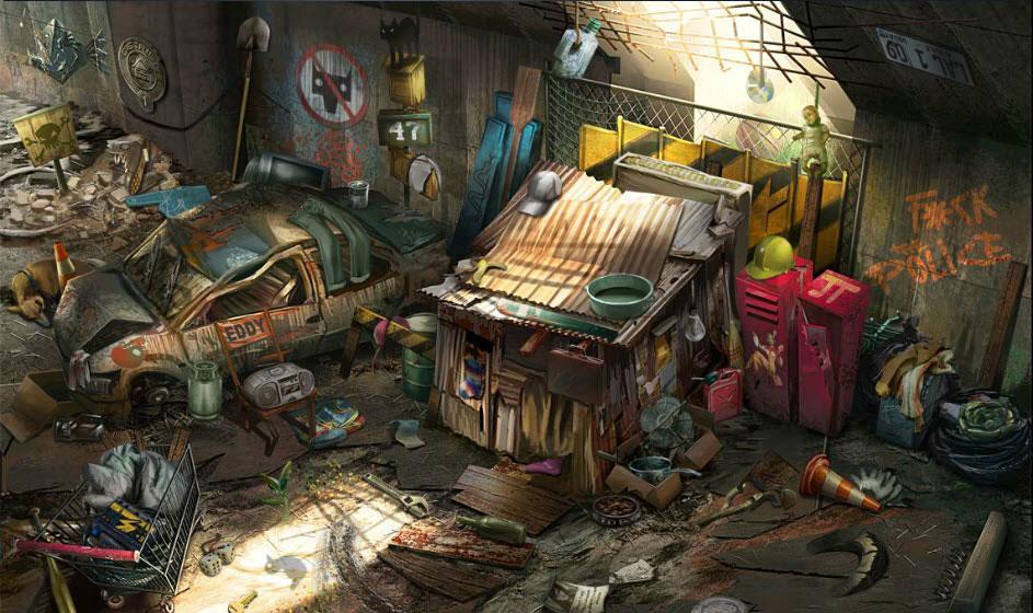 creepy basement criminal case. Homeless Camp The Grim Butcher  Criminal Case