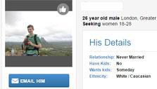 Match.com: Viewing a date's profile