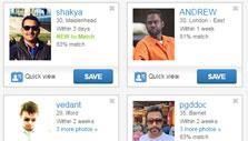 Date search results in Match.com