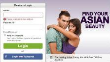 Registration in Asian Dating