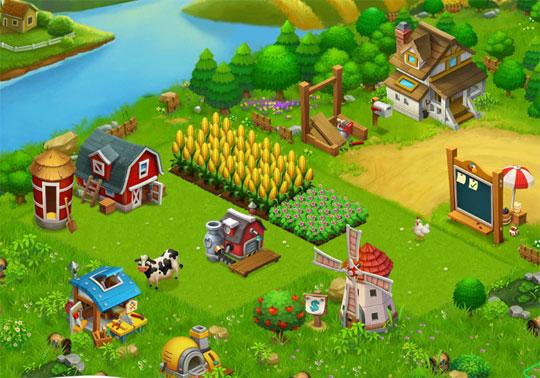 Enjoy a Cute Farm in Happy Acres