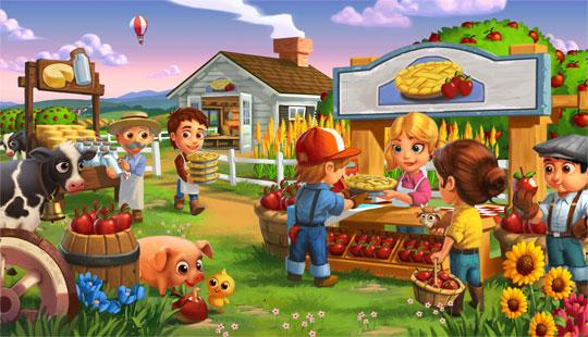 Enjoy FarmVille 2