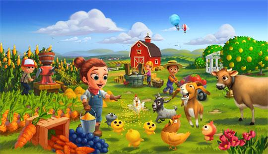 Enjoy all the Fun of a Farm in Farmville 2