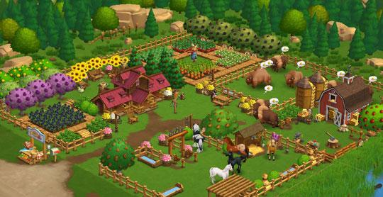 Amazing Property in Farmville 2
