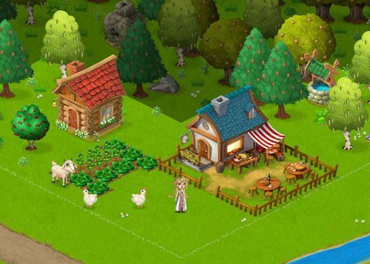Your Starting Farm in Daisyland