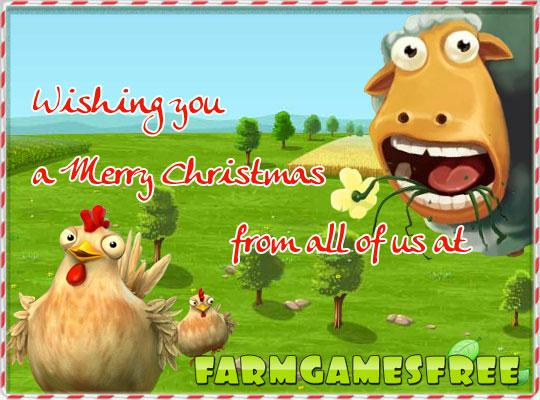 Merry Christmas and a Happy New Year from FarmGamesFree