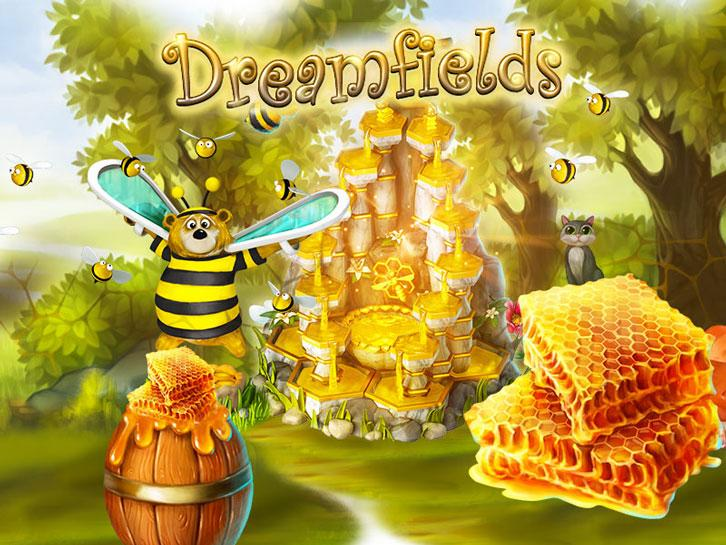 Dreamfields: A Golden Fountain of Honey