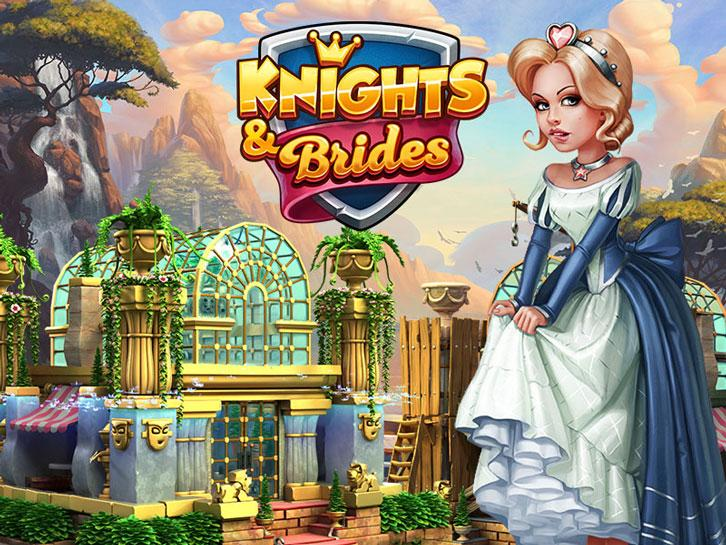Build the Hanging Gardens of Babylon in Knights and Brides